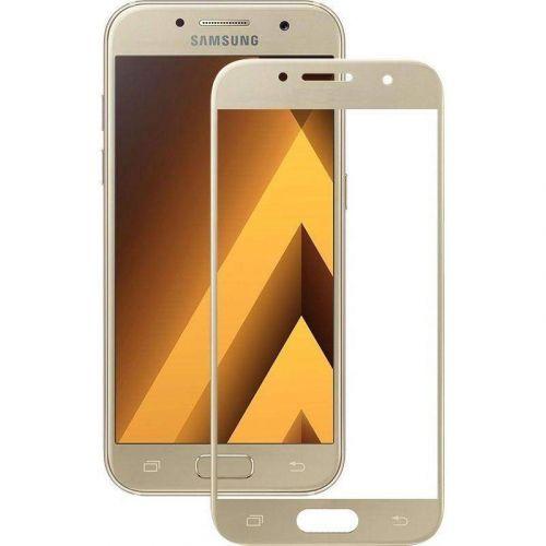 Защитное стекло Mocolo 3D Full Cover для Samsung Galaxy A5 2017 (Gold)