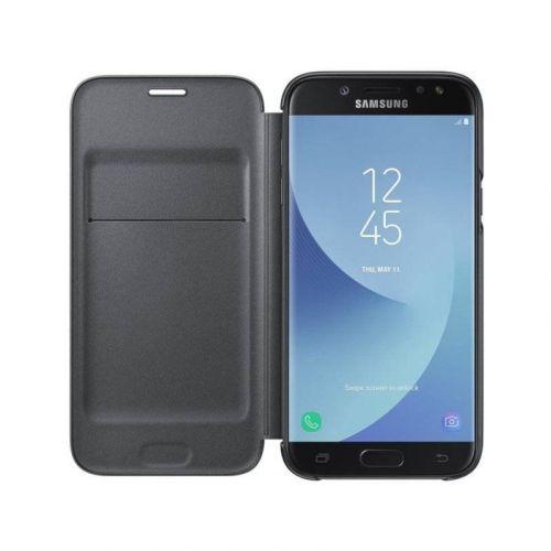 Чехол Samsung Wallet Cover для Galaxy J7 2017 (EF-WJ730CBEGRU) Black недорого