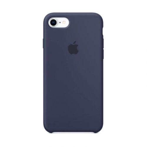 Чехол Apple Silicone Case для iPhone 8/7 (Midnight blue)