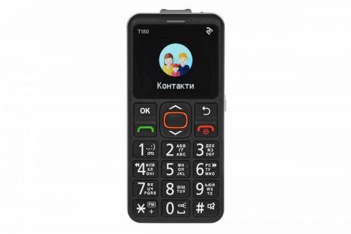 Мобильный телефон TWOE T180 Single Sim Black