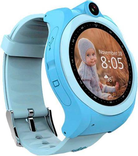 Смарт-часы UWatch Q610 Kid wifi gps Blue купить