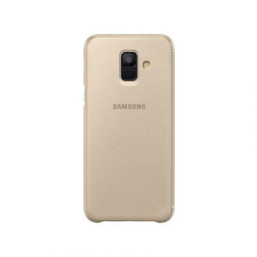 Чохол Samsung Flip Wallet для Galaxy A6 2018 (Gold)