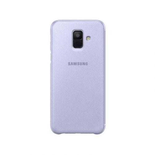 Чехол Samsung Flip Wallet для Galaxy A6 2018 Violet купить