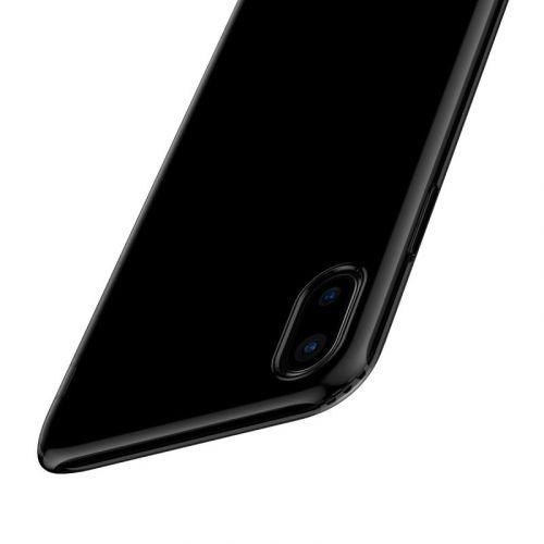 Чехол Baseus Simple Series Case для Apple iPhone X Transparent недорого