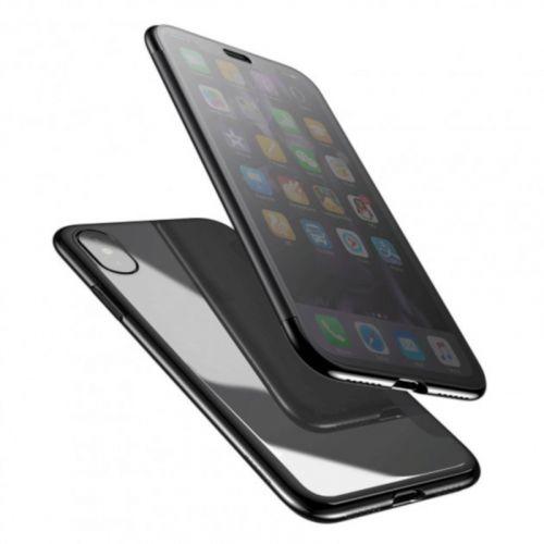 Чехол Baseus Touchable Series для Apple iPhone X (Black) купить