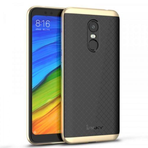 Чехол iPaky Carbon TPU для Xiaomi Redmi 5 (Gold)