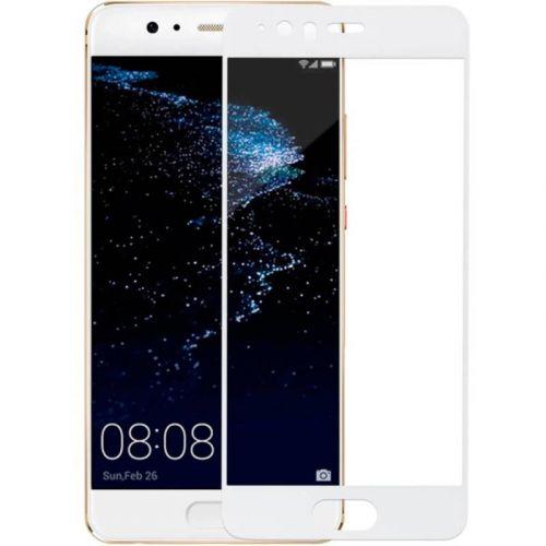 Защитное стекло MakeFuture Full Cover для Huawei P10 (White)