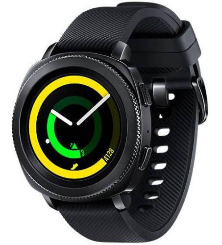 Смарт-часы Samsung SM-R600 Gear Sport (SM-R600NZKA) Black в Украине
