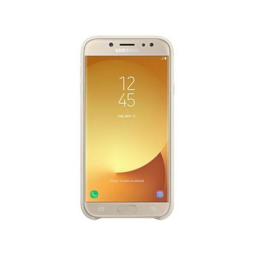 Чехол Samsung Dual Layer для Galaxy J3 2017 (EF-PJ330CFEGRU) Gold купить