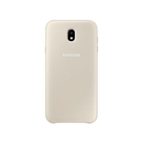 Чехол Samsung Dual Layer для Galaxy J3 2017 (EF-PJ330CFEGRU) Gold