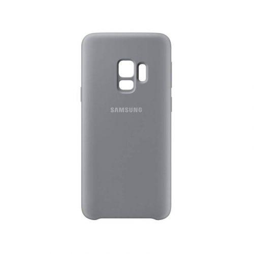 Чехол Samsung Silicone Cover для Galaxy S9 (EF-PG960TJEGRU) Grey