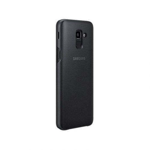 Чехол Samsung Wallet Cover для Galaxy J6 2018 Black купить