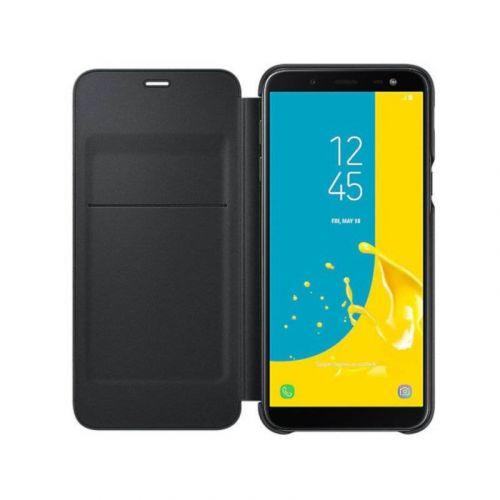 Чехол Samsung Wallet Cover для Galaxy J6 2018 Black недорого