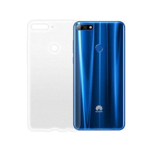 Чехол GlobalCase TPU Extra Slim для Huawei Y7 Prime 2018 (Clear)