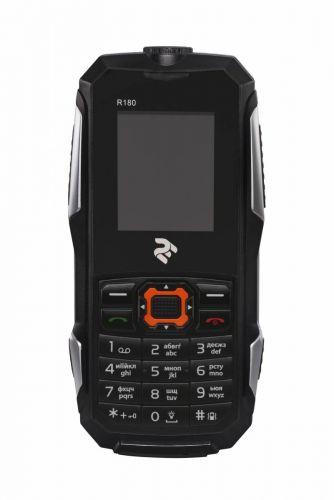Мобильный телефон TWOE R180 Dual Sim Black