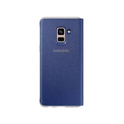 Чехол Samsung Flip Cover для Galaxy A8 2018 (EF-FA530PLEGRU) Blue купить