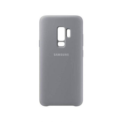 Чехол Samsung Silicone Cover для Galaxy S9 Plus (EF-PG965TJEGRU) Gray