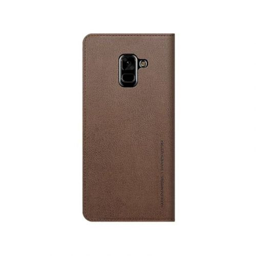 Чехол Araree Mustang Diary для Samsung A8 Plus 2018 (Brown) купить