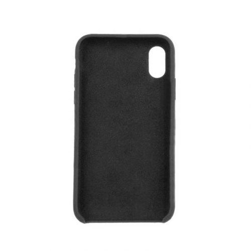 Чехол ColorWay Liquid Silicone для Apple iPhone X (Black) купить