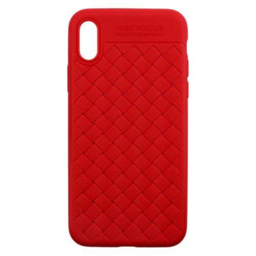 Чехол Usams Yun Series для Apple iPhone X (Red)