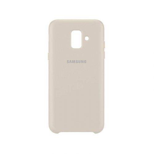 Чехол Samsung Dual Layer Cover для Galaxy A6 2018 (Gold)