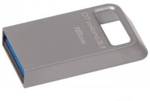 Флеш-память USB Kingston 16Gb DT Micro 3.1 (DTMC3/16Gb)