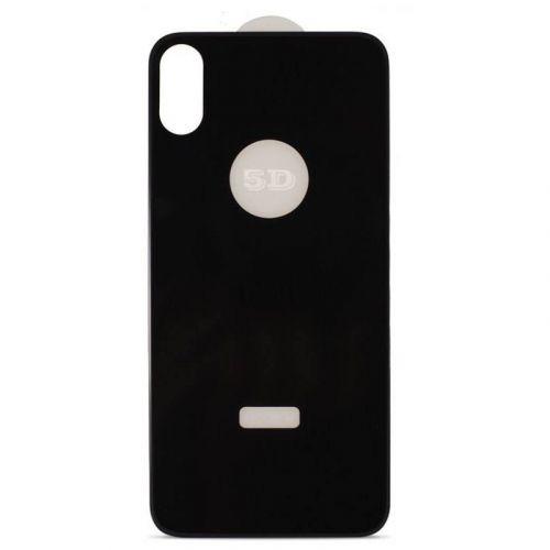 Защитное стекло MiaMI 5D Back Side для AppleiPhone X (Black)