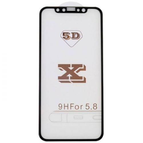 Защитное стекло MiaMI 5D для AppleiPhone X (Black)