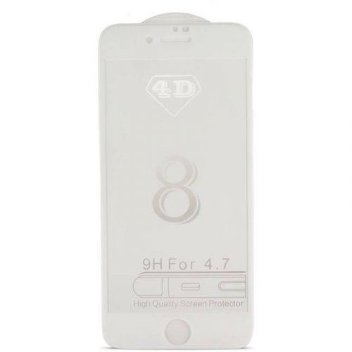 Защитное стекло MiaMI 4D для Apple iPhone X (White)