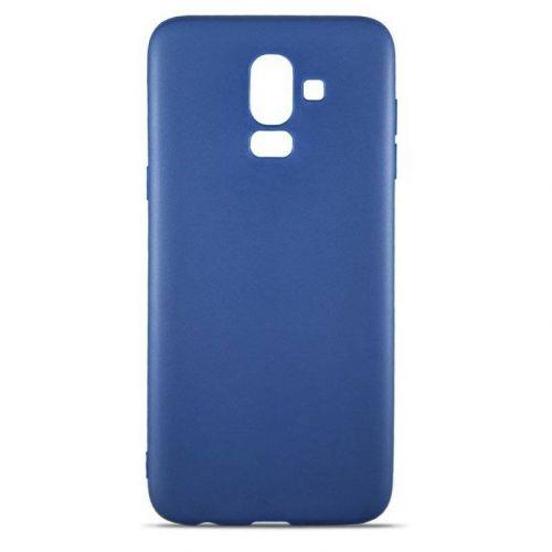 Чехол MiaMI Soft-touch для Samsung Galaxy J8 2018 (J810) Blue