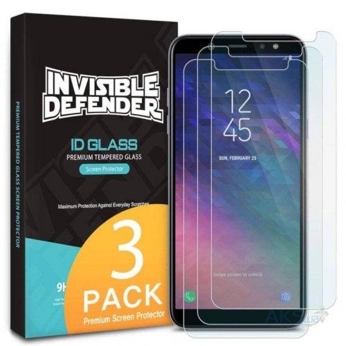 Защитное стекло Ringke Premium TG для Samsung Galaxy A6 Plus 2018