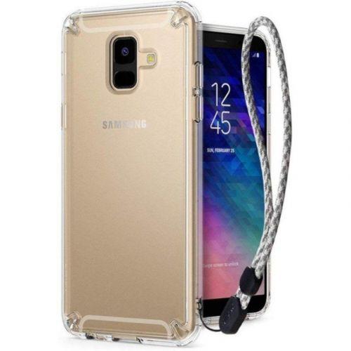 Чехол Ringke Fusion для Samsung Galaxy A6 Plus 2018 (Clear)