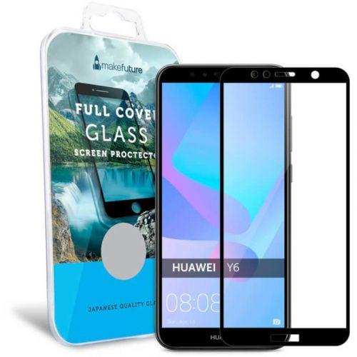 Захисне скло MakeFuture Full Cover для Huawei Y6 2018 (Black)