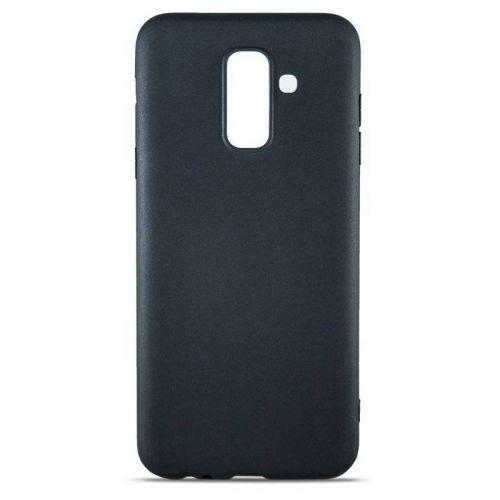 Чехол MiaMI Soft-touch для Samsung Galaxy A6 Plus 2018 (A605) Black