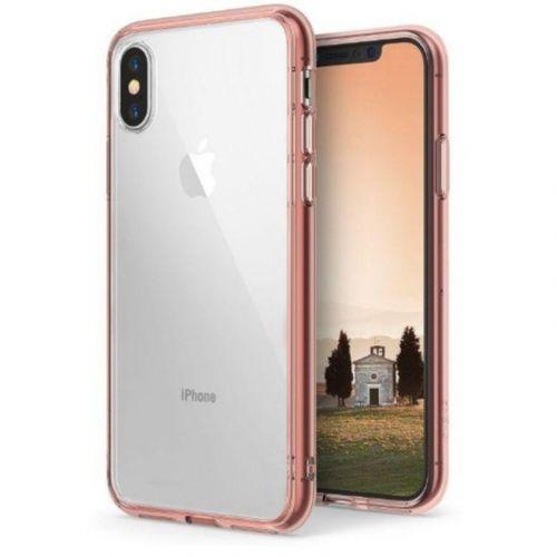 Чехол Ringke Fusion для Apple iPhone X (Rose Gold)