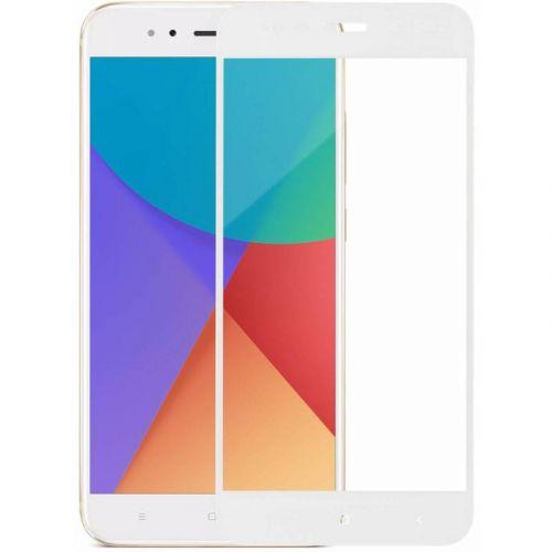 Защитное стекло MakeFuture Full Glue для Xiaomi Mi A1 (White)