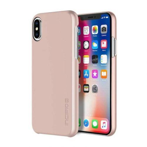Чехол Incipio Feather для Apple iPhone X Iridescent Rose Gold