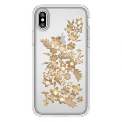 Чохол Speck Presidio для Apple iPhone X (Shimmer Gold)