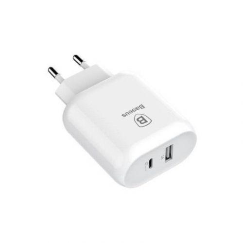 Сетевое зарядное устройство Baseus Bojure QС 32W USB-C (TZTUN-BJ02) Lightning White