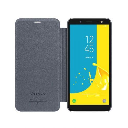 Чехол Nillkin Sparkle для Samsung Galaxy J6 Black недорого