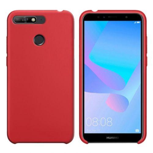Чехол Intaleo Velvet для Huawei Y7 Prime 2018 (Red)