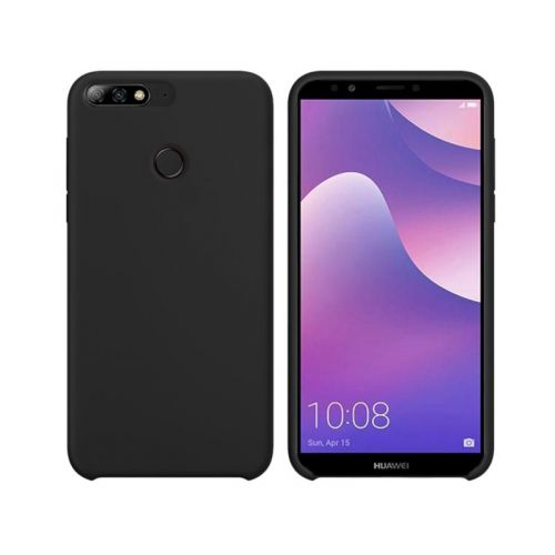 Чехол Intaleo Velvet для Huawei Y7 Prime 2018 (Black)