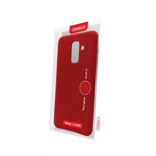 Чехол Intaleo Velvet для Samsung Galaxy A6 Plus 2018 Red в Украине