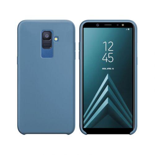 Чехол Intaleo Velvet для Samsung Galaxy A6 Plus 2018 (Blue)