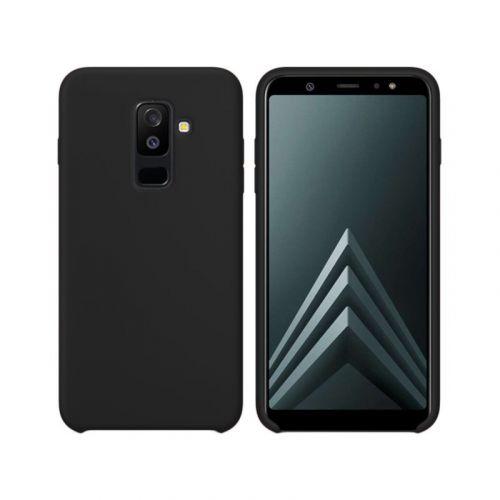 Чехол Intaleo Velvet для Samsung Galaxy A6 Plus 2018 (Black)