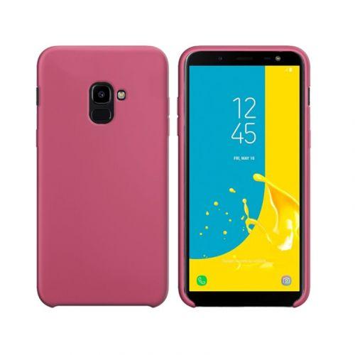 Чехол Intaleo Velvet для Samsung Galaxy J6 2018 (Pink)
