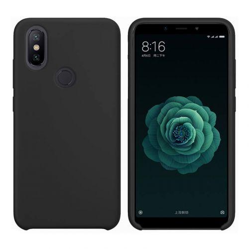 Чехол Intaleo Velvet для Xiaomi Mi6X (Black)