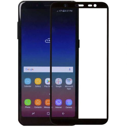 Защитное стекло MakeFuture Full Glue для Samsung Galaxy J8 2018 (Black)