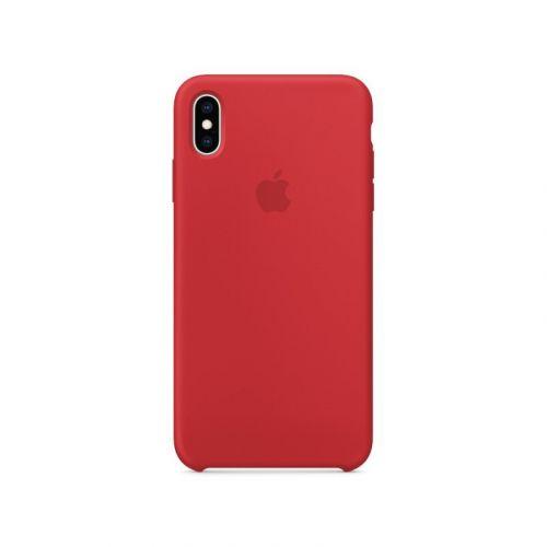 Чехол Apple Silicone Case для Apple iPhone XS Max (Red) недорого