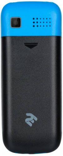 Мобильный телефон TWOE E180 Dual Sim Black-Blue купить